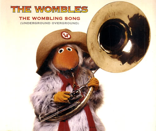 "The Wombles The Wombling Song CD single (CD5 / 5"") UK WMBC5TH163078"