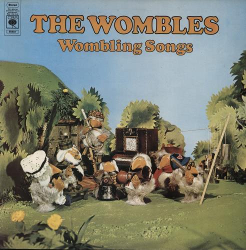 The Wombles Wombling Songs vinyl LP album (LP record) UK WMBLPWO523780