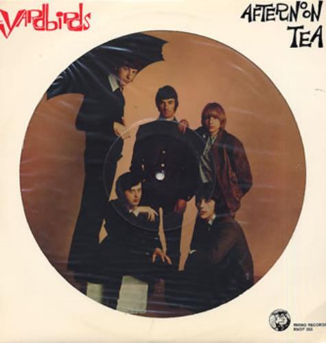 The Yardbirds Afternoon Tea picture disc LP (vinyl picture disc album) US YDBPDAF111884