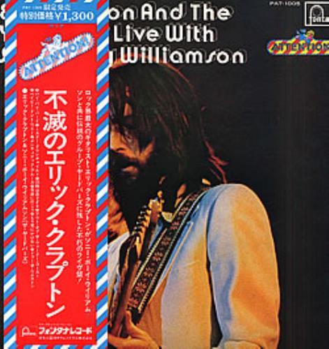 The Yardbirds Eric Clapton & The Yardbirds Live With Sonny Boy Williamson vinyl LP album (LP record) Japanese YDBLPER123894