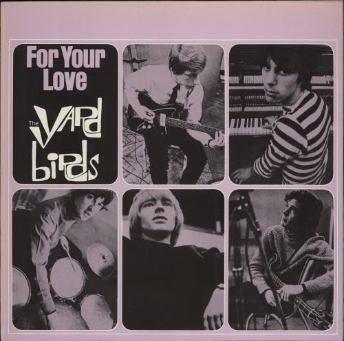 The Yardbirds For Your Love vinyl LP album (LP record) German YDBLPFO341783