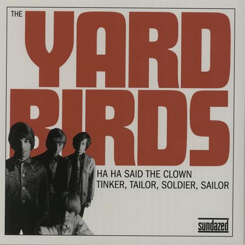 "The Yardbirds Ha Ha Said The Clown - RSD BF11 7"" vinyl single (7 inch record) US YDB07HA573809"