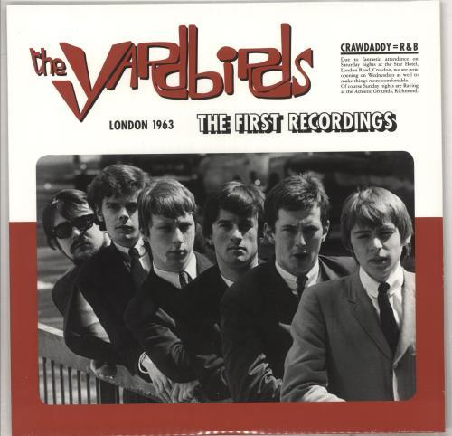 The Yardbirds London 1963: The First Recordings! - 180gm Vinyl - Sealed vinyl LP album (LP record) UK YDBLPLO734427