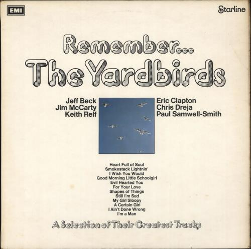 The Yardbirds Remember... The Yardbirds - 1st - EX vinyl LP album (LP record) UK YDBLPRE61888