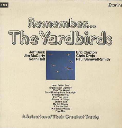 The Yardbirds Remember... The Yardbirds - 2nd - EX vinyl LP album (LP record) UK YDBLPRE231598