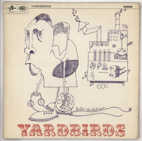 The Yardbirds Roger The Engineer - 1st - EX vinyl LP album (LP record) UK YDBLPRO521298