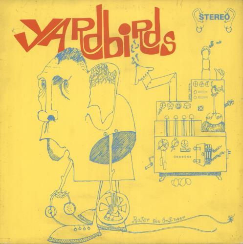 The Yardbirds Roger The Engineer Stereo Uk Vinyl Lp