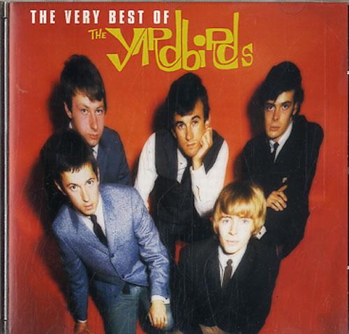 The Yardbirds The Very Best Of CD album (CDLP) French YDBCDTH617827