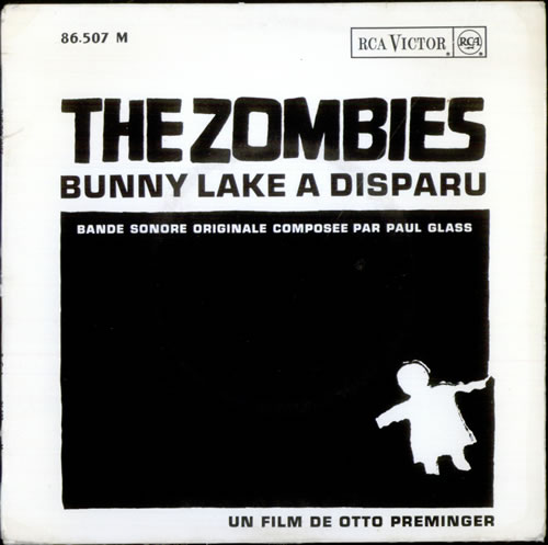 "The Zombies Bunny Lake A Disparu EP 7"" vinyl single (7 inch record) French ZOM07BU525374"