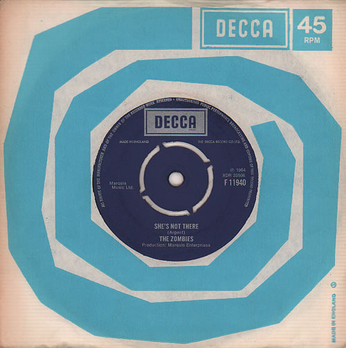 """The Zombies She's Not There - Boxed 7"""" vinyl single (7 inch record) UK ZOM07SH212498"""