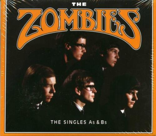 The Zombies The Singles As & Bs 2 CD album set (Double CD) German ZOM2CTH379369