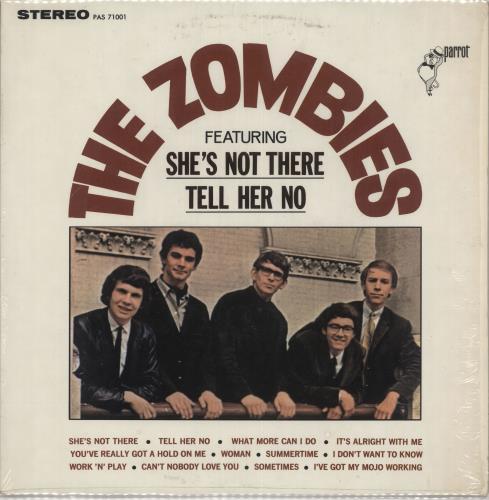 The Zombies The Zombies - 1st - shrink vinyl LP album (LP record) US ZOMLPTH202590