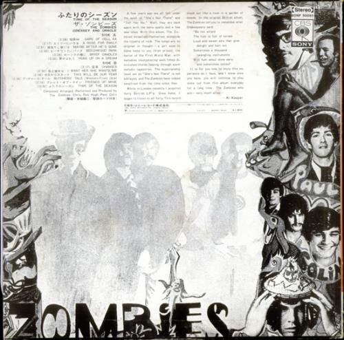 The Zombies Time Of The Season Odessey Amp Oracle Japanese