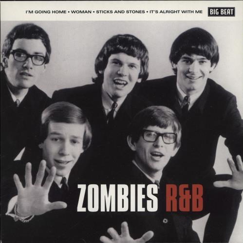 """The Zombies Zombies R&B 7"""" vinyl single (7 inch record) UK ZOM07ZO766808"""