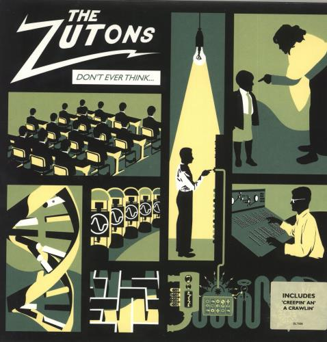 """The Zutons Don't Ever Think (Too Much) 7"""" vinyl single (7 inch record) UK TZT07DO305170"""