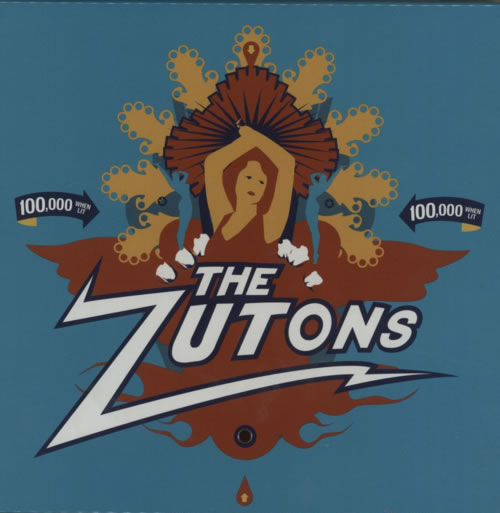 The Zutons Singles Box Set - Autographed box set UK TZTBXSI608515