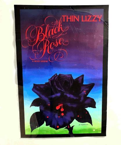 Thin Lizzy Black Rose: A Rock Legend poster UK THIPOBL679168
