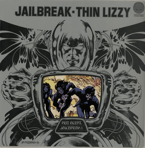 Thin Lizzy Jailbreak - 1st vinyl LP album (LP record) UK THILPJA572457