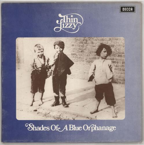 Thin Lizzy Shades Of A Blue Orphanage - 1st vinyl LP album (LP record) UK THILPSH88130
