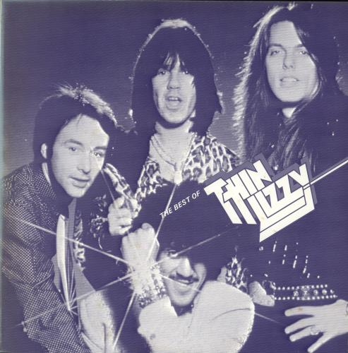 Thin Lizzy The Best Of Thin Lizzy vinyl LP album (LP record) Japanese THILPTH230982