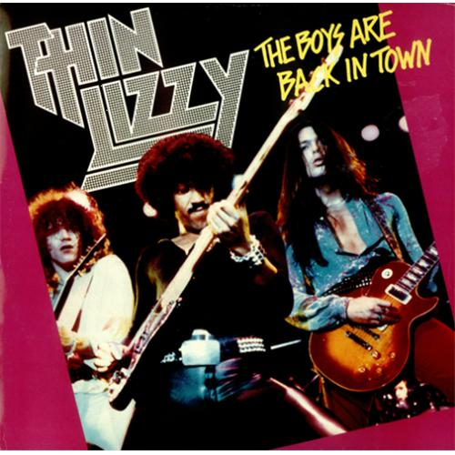 Thin Lizzy The Boys Are Back In Town Poster Pack Uk 12