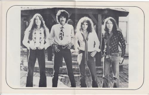 Thin Lizzy Thin Lizzy press book UK THIPBTH648676