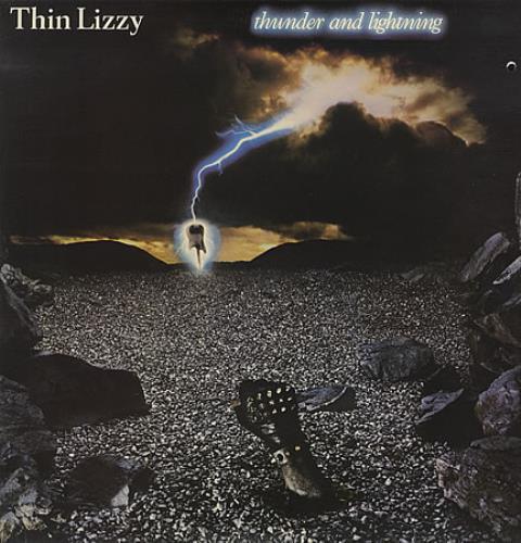 Thin Lizzy Thunder And Lightning + EP - EX 2-LP vinyl record set (Double Album) UK THI2LTH55658