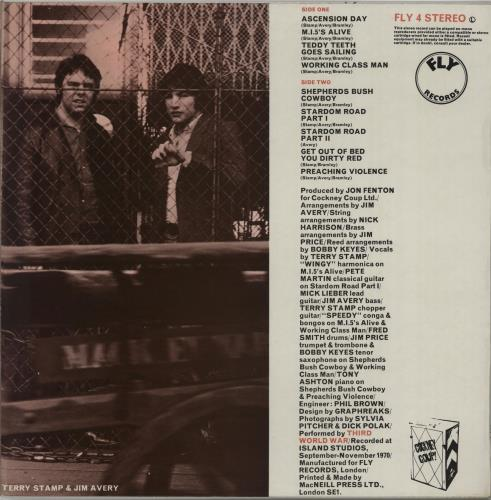 Third World War Third World War + Insert vinyl LP album (LP record) UK TWWLPTH209927