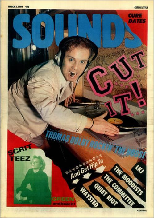 Thomas Dolby Sounds - 3rd March magazine UK DOLMASO451403