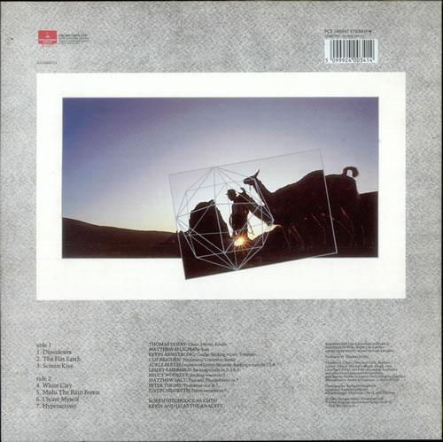 Thomas Dolby The Flat Earth Test Pressing Uk Vinyl Lp