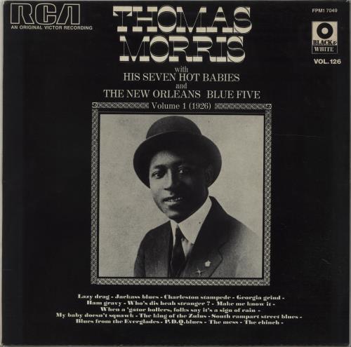 Thomas Morris Volume 1 (1926) vinyl LP album (LP record) French 7TMLPVO675870