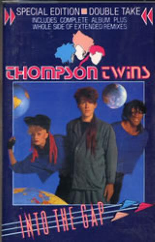 Thompson Twins Into The Gap cassette album UK TWICLIN137357