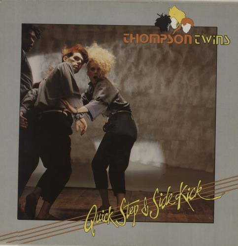 Thompson Twins Quick Step & Side Kick vinyl LP album (LP record) German TWILPQU679471