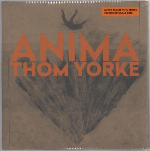 Thom Yorke Anima - 140gm Orange Vinyl - Sealed 2-LP vinyl record set (Double Album) UK UJ42LAN725986
