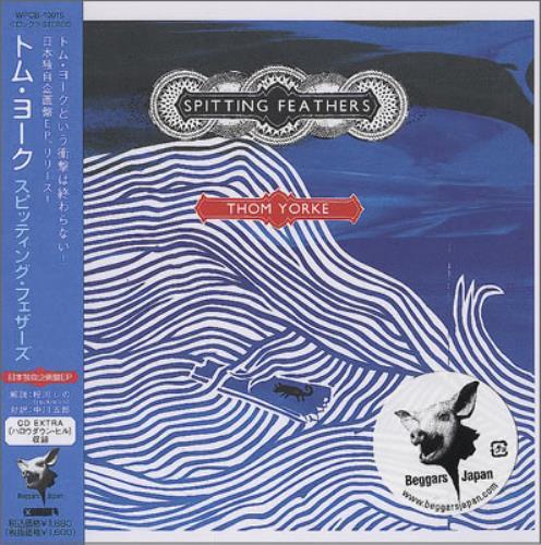 "Thom Yorke Spitting Feathers CD single (CD5 / 5"") Japanese UJ4C5SP377619"