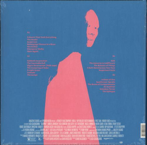 Thom Yorke Suspiria - Pink Vinyl - Sealed 2-LP vinyl record set (Double Album) UK UJ42LSU707057
