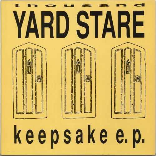 Thousand Yard Stare Keepsake E P Lyric Insert Uk 12 Vinyl Single 12 Inch Record Maxi Single 700988 The u/buttermouth community on reddit. eil com