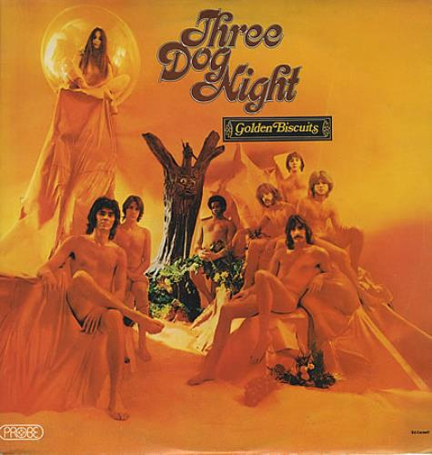 Three Dog Night Golden Biscuits vinyl LP album (LP record) UK TDNLPGO136685