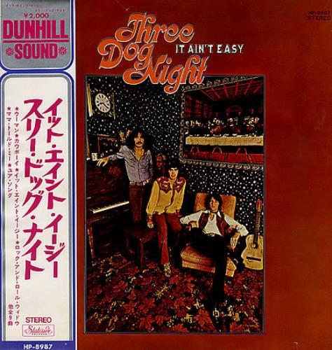 Three Dog Night It Ain T Easy Japanese Vinyl Lp Album Lp Record 349315