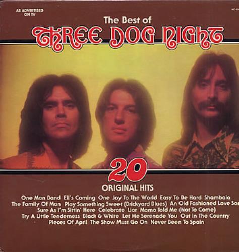 Three Dog Night The Best Of Three Dog Night Canadian Vinyl