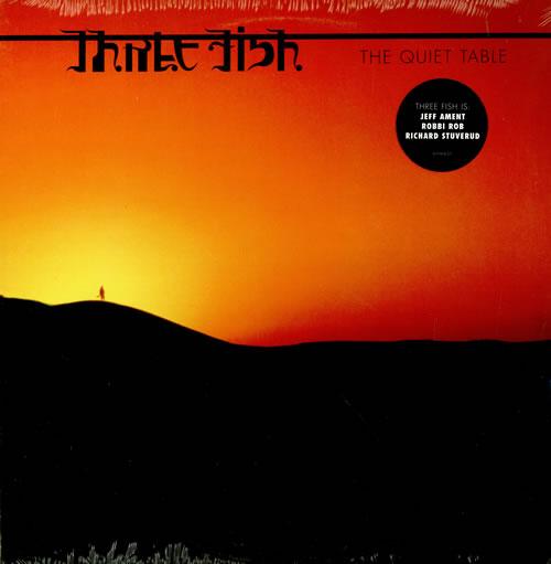 Three Fish The Quiet Table - Sealed 2-LP vinyl record set (Double Album) US TJ32LTH458180