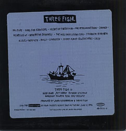 Three Fish Three Fish CD album (CDLP) US TJ3CDTH318364