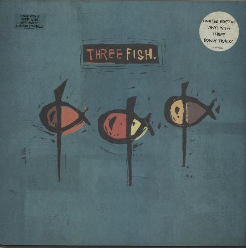 Three Fish Three Fish 2-LP vinyl record set (Double Album) US TJ32LTH503602