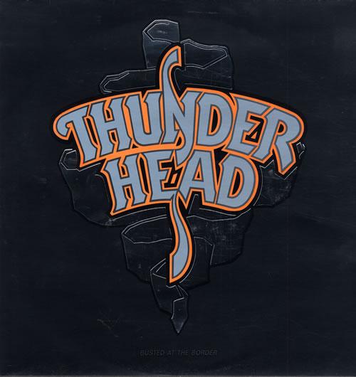 Thunderhead Busted At The Border vinyl LP album (LP record) UK THNLPBU561107