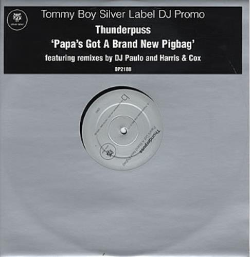 "Thunderpuss Papa's Got A Brand New Pigbag 12"" vinyl single (12 inch record / Maxi-single) UK TUP12PA236756"