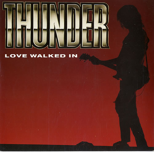 "Thunder Love Walked In 7"" vinyl single (7 inch record) UK THU07LO52250"