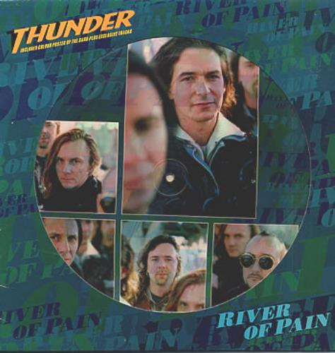"Thunder River Of Pain 12"" vinyl picture disc 12inch picture disc record UK THU2PRI41429"
