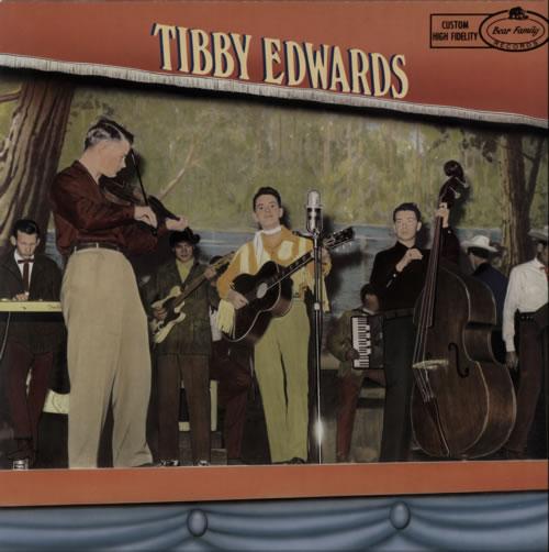 Tibby Edwards Flip, Flop & Fly vinyl LP album (LP record) UK WQBLPFL615524