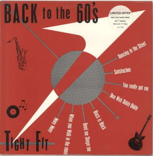 "Tight Fit Back To The 60's - p/s 12"" vinyl single (12 inch record / Maxi-single) UK TGF12BA694466"