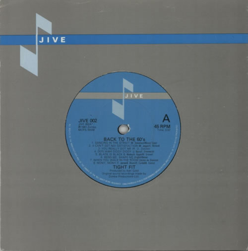 """Tight Fit Back To The 60's 7"""" vinyl single (7 inch record) UK TGF07BA617684"""